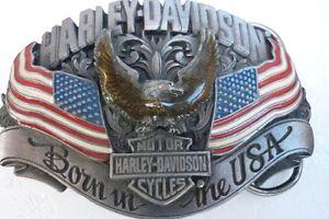 Metal belt buckles-Harley Davidson/Jim Beam/Jack Daniels -more Horsley Wollongong Area Preview