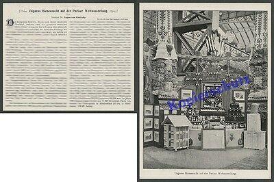 Weltausstellung Paris 1900 Bienen Zucht Imkerei K.u.K. Slowakei Košice Rodiczky