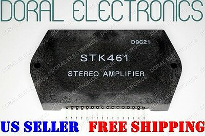 Stk461 Free Shipping Us Seller Integrated Circuit Ic Stereo Amplifier