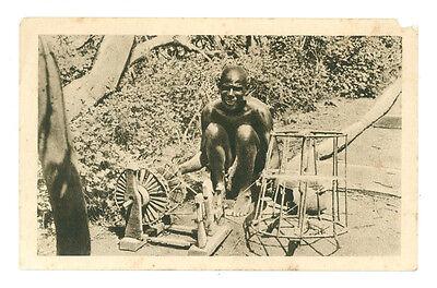 AFRICA ORIENTALE TELAIO PRIMITIVO ERITREA COLONIE D'ITALIA INDIGENI ANNI '30