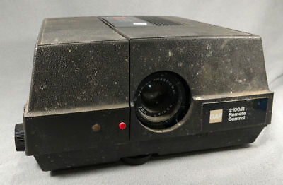 GAF Slide Projector 2100R  Vintage UNTESTED  used PARTS ONLY ANB
