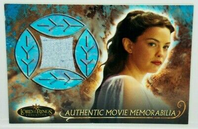 The Lord of The Rings Evolution Arwen's Nightgown Relic Memorabilia Costume Card](Arwen Lord Of The Rings Costume)