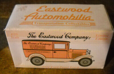 THE EASTWOOD COMPANY UK #3  1931 FORD PANEL TRUCK DIECAST NIB