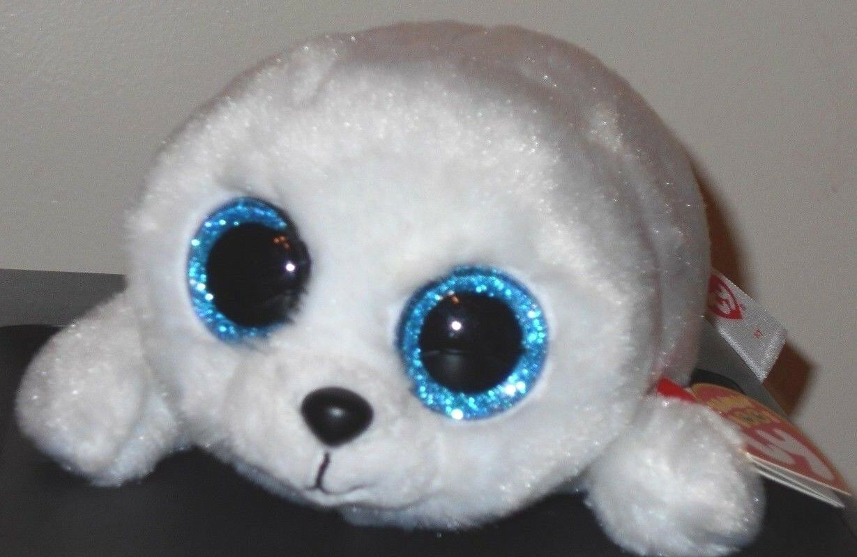 """ICY the 6/"""" SEAL MINT with MINT TAGS TY BEANIE BOOS"""