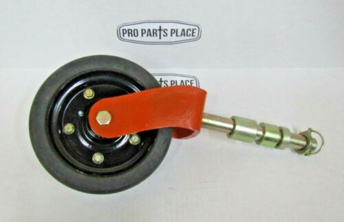 """COMPLETE MASCHIO JOLLY CARONI CURTIS WHEEL ASSEMBLY 8"""" FOR FINISHING MOWERS"""