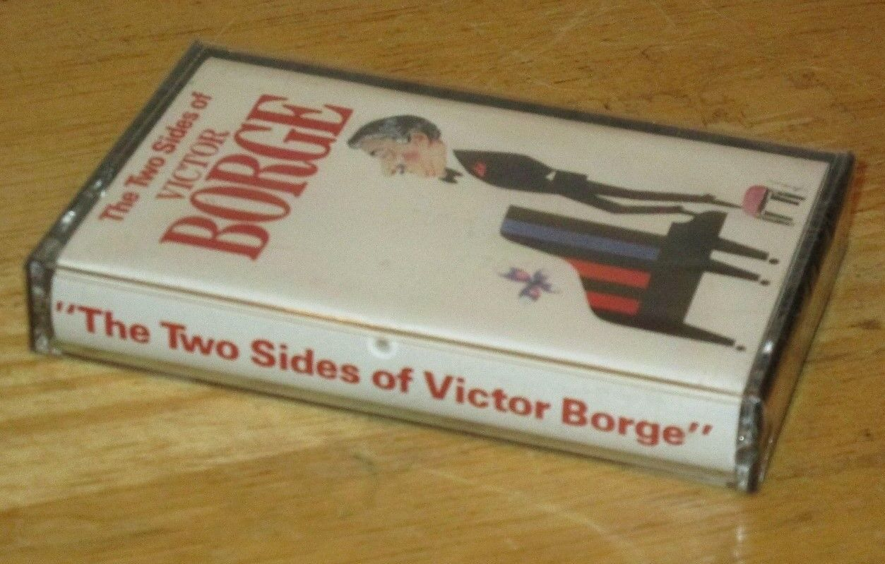 The Two Sides of Victor Borge by Victor Borge (Cassette 1987) Compilation NEW