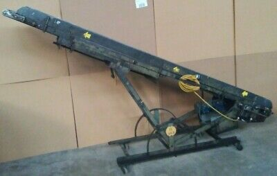 Handibelt Hytrol 18 X 11ft Tilting Incline Conveyor W 14 Belt