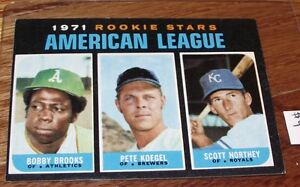 1971-Topps-Baseball-633-Rookie-Stars-American-League