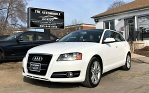 2011 Audi A3 2.0T MANUAL PANO SUNROOF LEATHER NO ACCIDENT