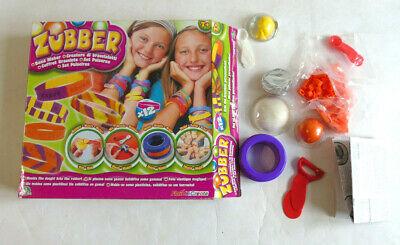 JOUET JEU FILLE ZUBBER CREATION DE BRACELETS LOISIR CREATIF TOY GAME GIRL for sale  Shipping to Nigeria