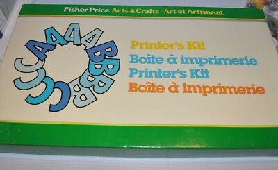 Fisher Price Arts & Craft PRINTER