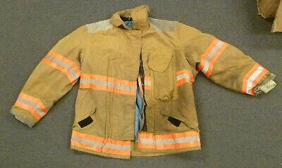 46x32 Globe Firefighter Jacket Coat Bunker Turn Out Gear J707