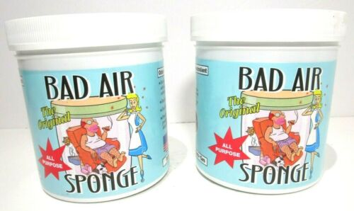 Bad Air Sponge All Purpose Odor Neutralant, 14 Oz. (2 Pack) New, FREE SHIPPING