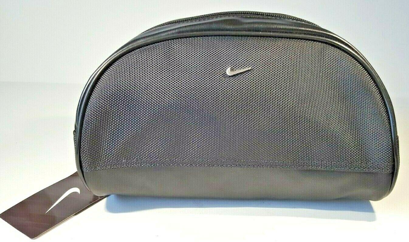Nike Golf Mens Toiletry Travel Bag Dopp Kit Shave Case Blue