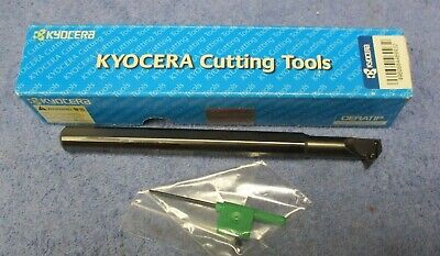 Kyocera Indexable Boring Bar S08m-svzcl 1.5e  12 Shank