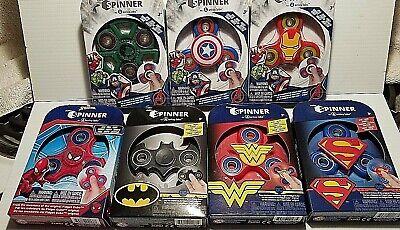 Zuru Fidget Spinner Kid's Toy Batman Superman Wonder Woman Hulk DC Comics NEW