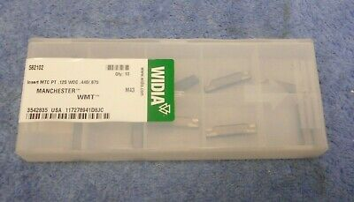 Widia  Carbide Inserts 582102 Grade M43  Pack Of 10