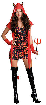 Halloween Running Apparel (Sexy Womens Running with the Devil Halloween Costume Adult Cosplay Small)