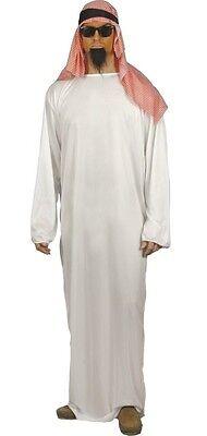 Herren Arabischer Scheich Film Rund um die Welt Kostüm Kleid Outfit M & L