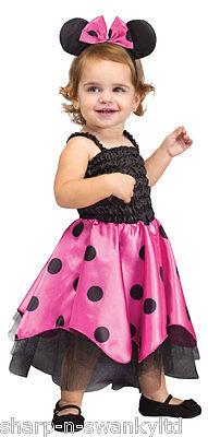Baby Kleinkind Mädchen Minnie Maus Tier Halloween Kostüm Kleid - Minnie Kostüm Kleinkind