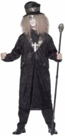 GOTHIC COUNT FANCY DRESS OUTFIT SIZE L GREAT FOR HALLOWEEN PARTY