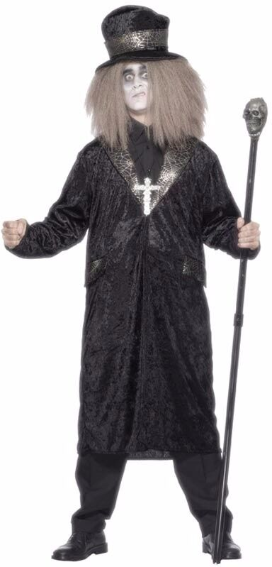 GOTHIC COUNT FANCY DRESS OUTFIT SIZE L GREAT FOR HALLOWEEN