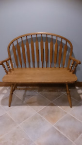 SOLID WOOD PINE by MUNRO...wood bench