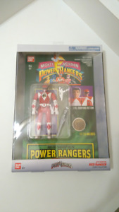 Power Rangers Collector grade Legacy Red Ranger action figure