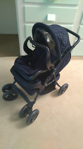 Toy Stroller with Car Seat Carrier