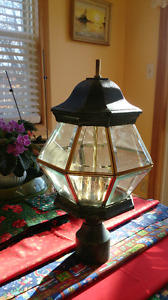 3 New Exterior Post Lamps