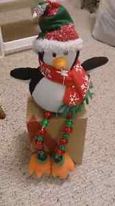 Light up penguin decoration