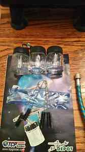 NEW Complete airbrush set for sale, paint & cleaning kit Kingston Kingston Area image 8
