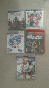 PS3 Games - $5 each