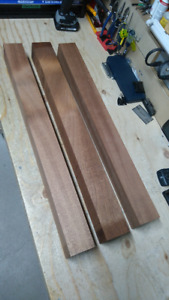 Sapele Mahogany one piece guitar neck blank wood (3 available)