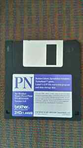 Program Diskettes for Brother Super PowerNote - 2 Diskettes Kitchener / Waterloo Kitchener Area image 2