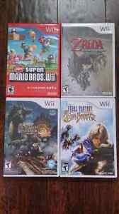 4 Wii Games - LIKE NEW