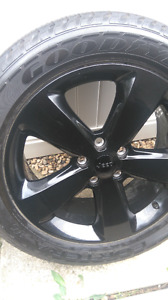 2014 Grand Cherokee tires and rims