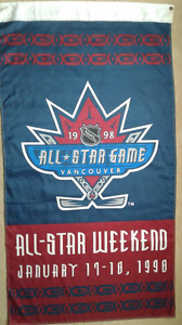 1998 NHL All-Star Weekend in Vancouver Banner