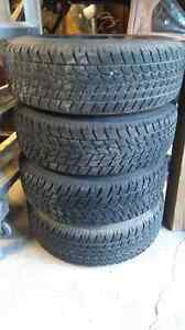 215/70R16 TOYO Open Country G02+ Winter Tires (Set of 4)