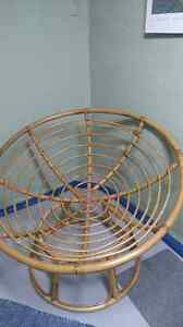 wicker papasan frame for sale