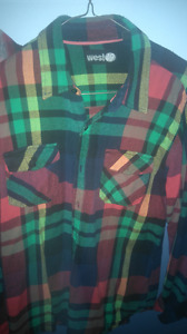 YOUTH/MENS FLANNEL SHIRT WEST 49