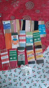 Seam Binding - various styles and colours