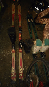 Men's and Womens skis!