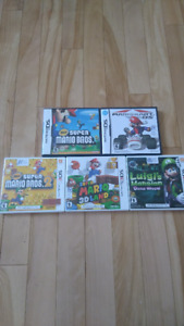 DS and 3DS games (15$ each)
