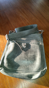 Roots Tribe Leather Bag in good condition