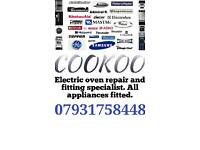 Electric cooker fitting