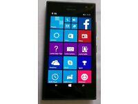 New Nokia Lumia 735 - 8GB - Black Windows Smartphone