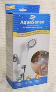 NEW - MULTI PATERN HANDHELD SHOWER - ON/OFF SWITCH West Island Greater Montréal image 2