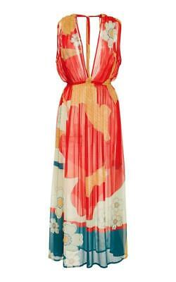 A Peace Treaty ~ Mira Midi Dress ~ M/L ~ NWOT ~ SOLD OUT ~ Red Floral ~ $475