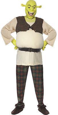 Shrek Kostüm für Herren NEU - Herren Karneval Fasching Verkleidung Kostüm (Shrek Kostüm Kostüm)